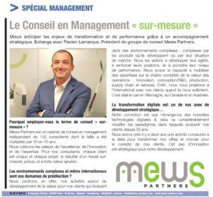 Conseil en Management sur mesure