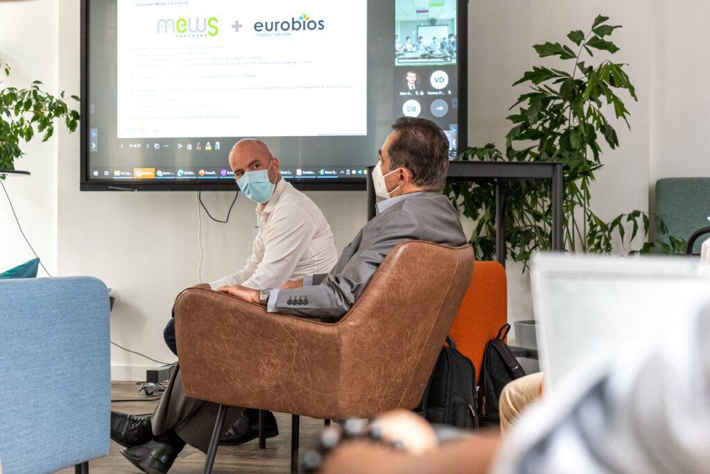 Eurobios Mews Las - presentation du projet du projet Labs aux equipes de Mews Partners